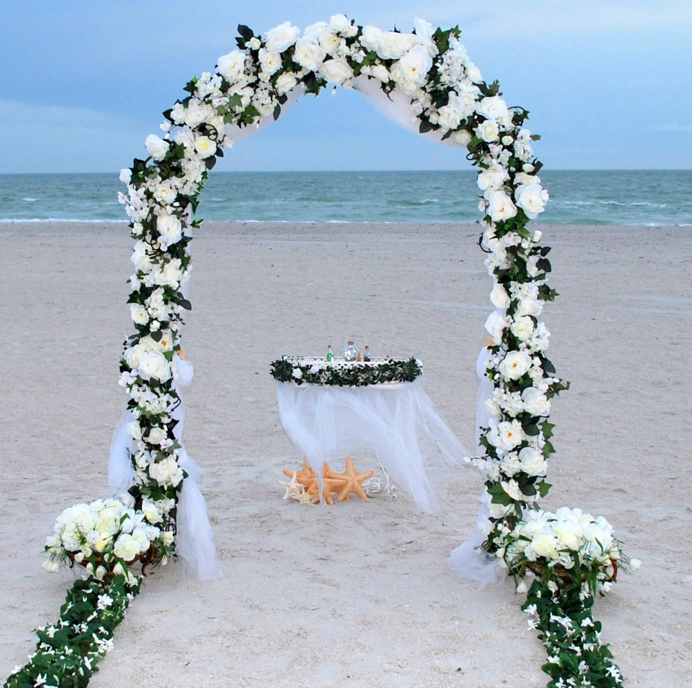 Как сделать цветочную арку для свадьбы